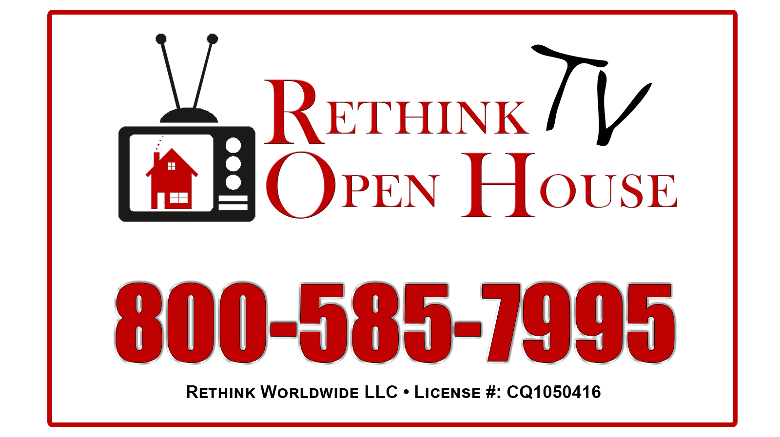 Rethink Open House - Rethink Worldwide LLC